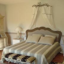 Chambre - Peinture intérieure et décoration - Villa privée - Saint-Tropez