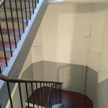 Rénovation hall immeuble et cage escalier