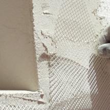 Isolation thermique par l'exterieur - technique ITE - treillis d'armature