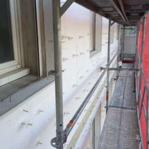 Isolation thermique par l'exterieur - technique ITE - travaux de façade